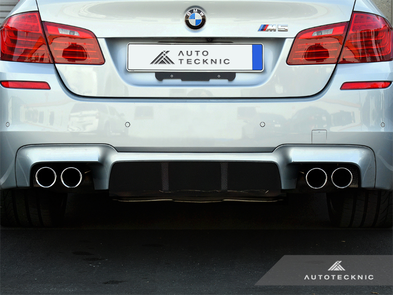Auto Tecknic Vacuumed Carbon Fiber Competition Center Diffuser BMW F10 M5 12-16