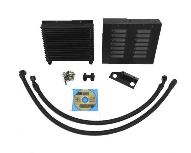 Evolution Racewerks Anodized Black Sports Series Oil Cooler Upgrade Kit BMW 1 Series M 11-12