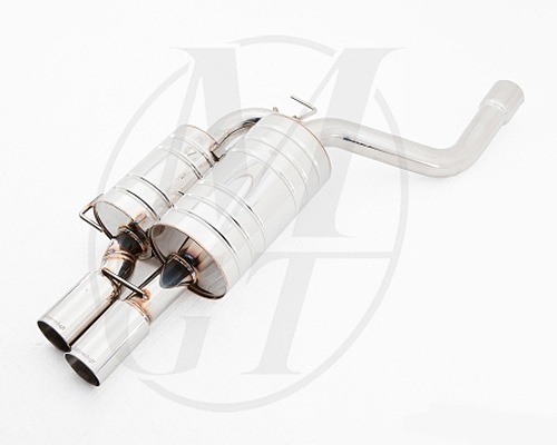 Meisterschaft Stainless GT Racing Axle Back Muffler BMW 525/528/530 Sedan / Wagon 03-10 - BM0911201
