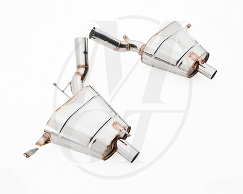Meisterschaft Stainless GT Racing Axle Back Muffler BMW Z8 Roadster 00-03 - BM2211200