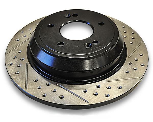 ARK Drilled & Slotted Rear Rotors Hyundai Genesis Coupe w/Brembo Brakes 10-12