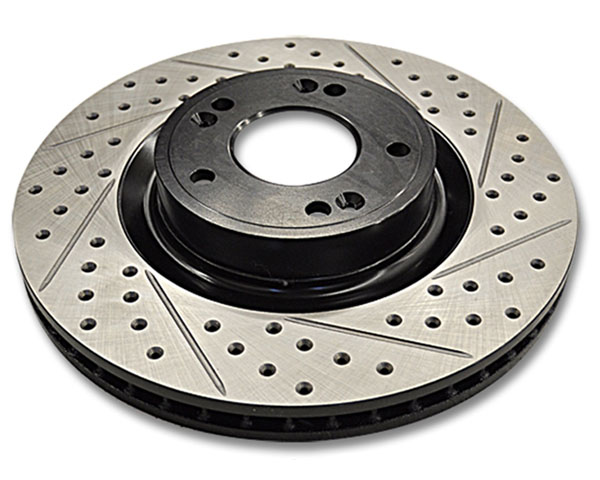 ARK Drilled & Slotted Front Rotors Hyundai Genesis Coupe w/o Brembo Brakes 10-12