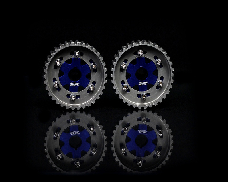 Blackworks Racing Blue Adjustable Cam Gear Honda B-Series Engines