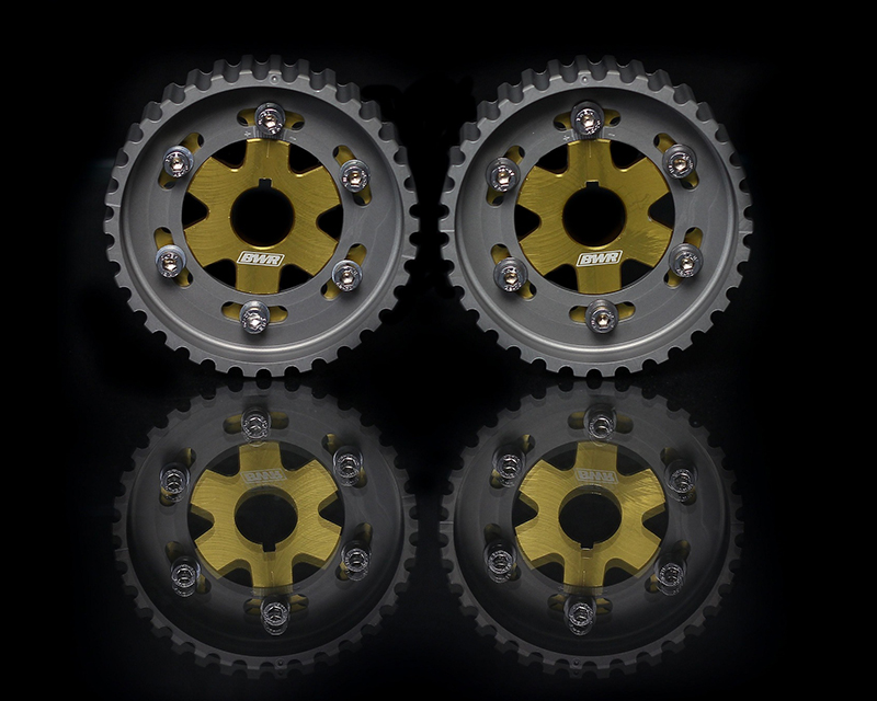Blackworks Racing Gold Adjustable Cam Gear Honda B-Series Engines