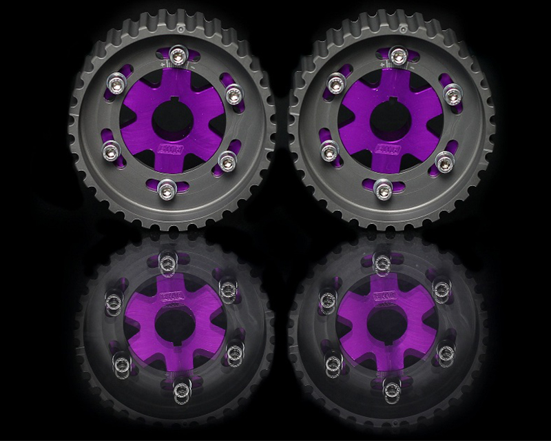 Blackworks Racing Purple Adjustable Cam Gear Honda B-Series Engines