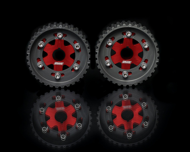Blackworks Racing Red Adjustable Cam Gear Honda B-Series Engines