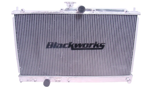 Blackworks Racing Aluminum Radiator for Mitsubishi Evolution VII 01-02