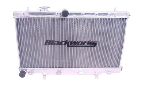 Blackworks Racing Aluminum Radiator for Subaru WRX 02-07