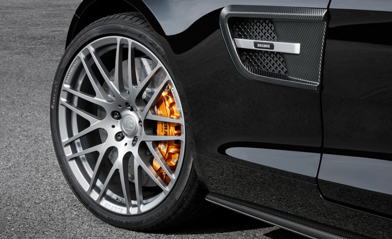 Brabus Gloss Carbon Fiber Front Fenders with Side Vents Mercedes-Benz GT | GTS 15-17