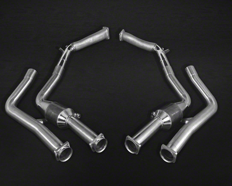 Capristo 100 Cell Catted Stainless Steel Downpipe Pair Mercedes-Benz G63 5.5L V8 BiTurbo AMG 12-15