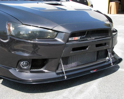 APR Carbon Fiber Front Splitter Mitsubishi Lancer/Ralliart 08-11