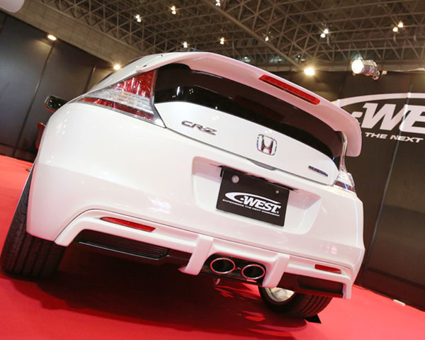 Ordinaire C West Rear Diffuser ABS Primered Honda CR Z 11 13   CZF101A