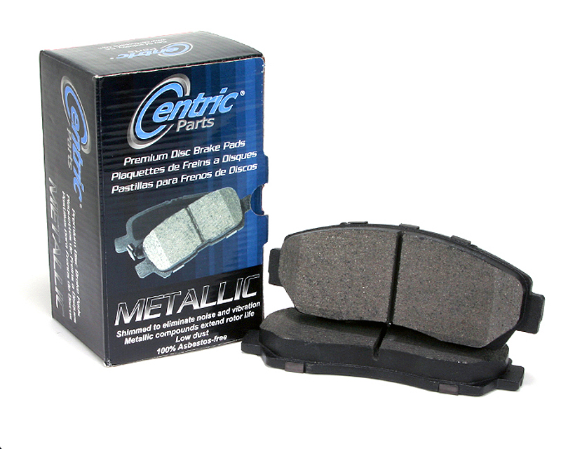Centric Premium Ceramic Brake Pads with Shims Rear Volkswagen GTI 2010