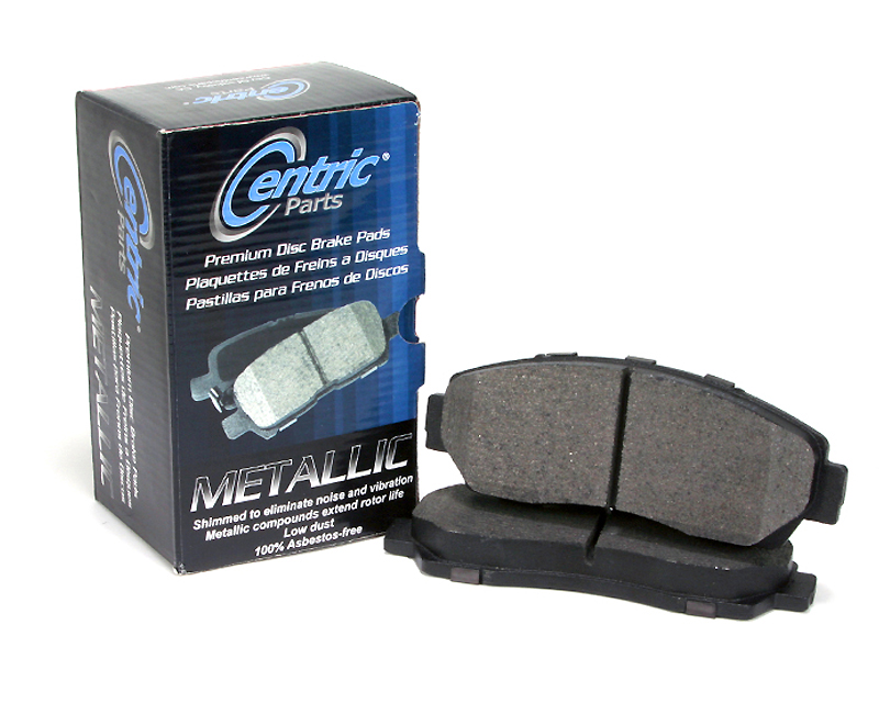 Centric Premium Semi Metallic Brake Pads with Shims Rear Hyundai Tiburon 2008 - 300.03230