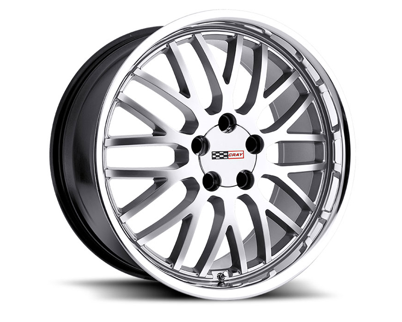 Cray Manta 17X9 5x120.65 50mm Hyper Silver Machined