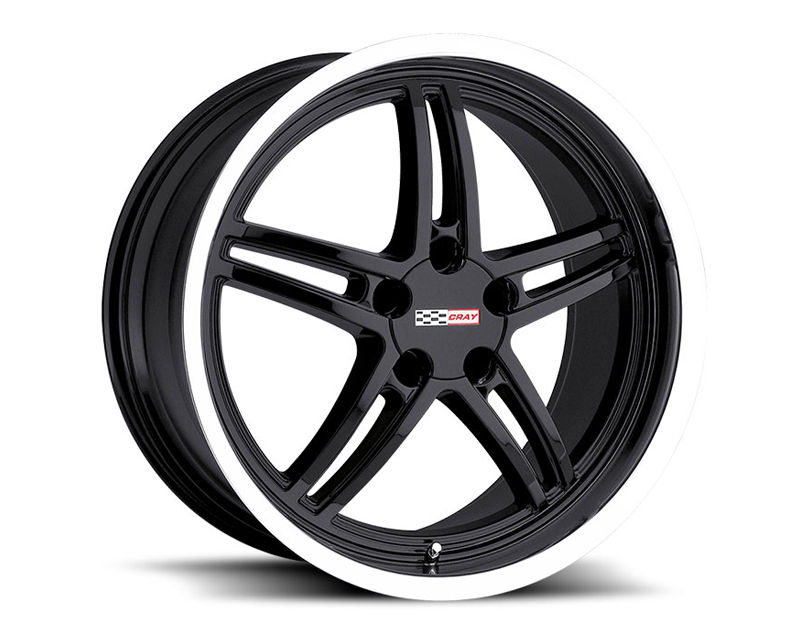 Cray Scorpion 17X9 5x120.65 50mm Gloss Black Machined