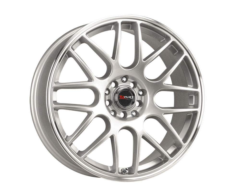 Drag DR-34 Silver Machined Lip 17x7.5 4x100/114.3 42 - DT-22816