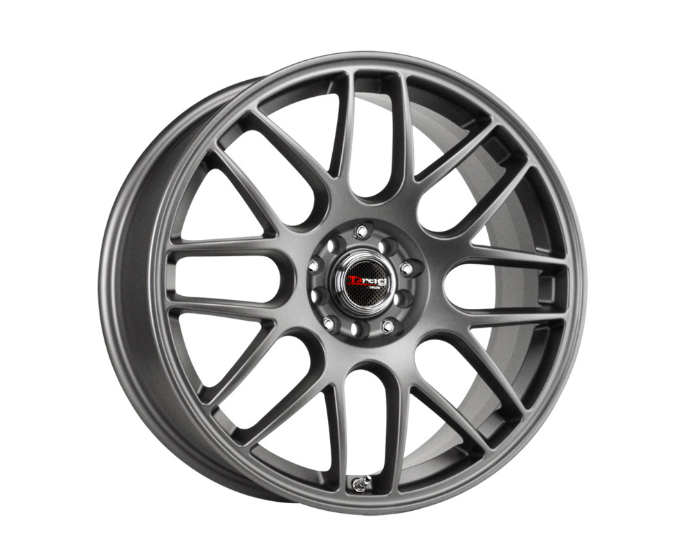 Drag DR-34 Charcoal Gray Full Painted 18x8 5x100/114.3 47mm - DT-22842