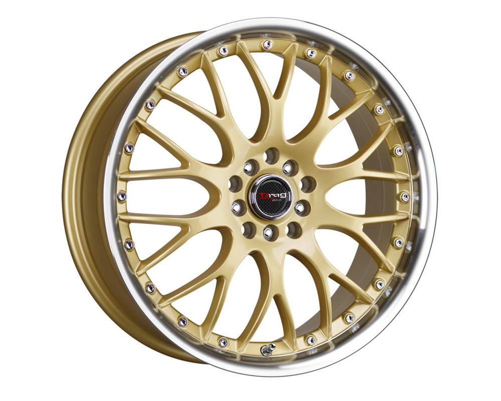 Drag DR-19 Gold Machined Lip 17x7.5 5x100/114.3 45mm - DT-47199