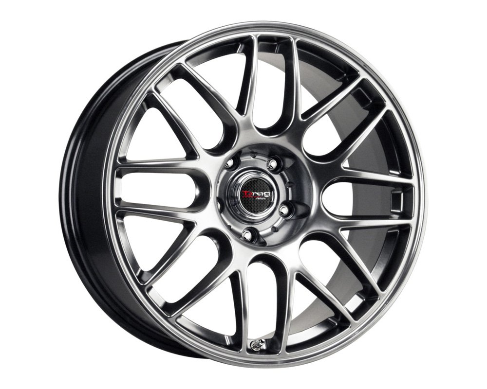 Drag DR-37 Flat Black Machined Face 17x7.5 5x120 42mm - DT-61435