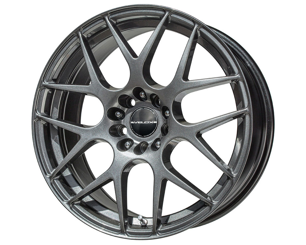 Velox Apex Black Metallic Wheel 17x7.5 5x100/114.3 40mm - 80017002