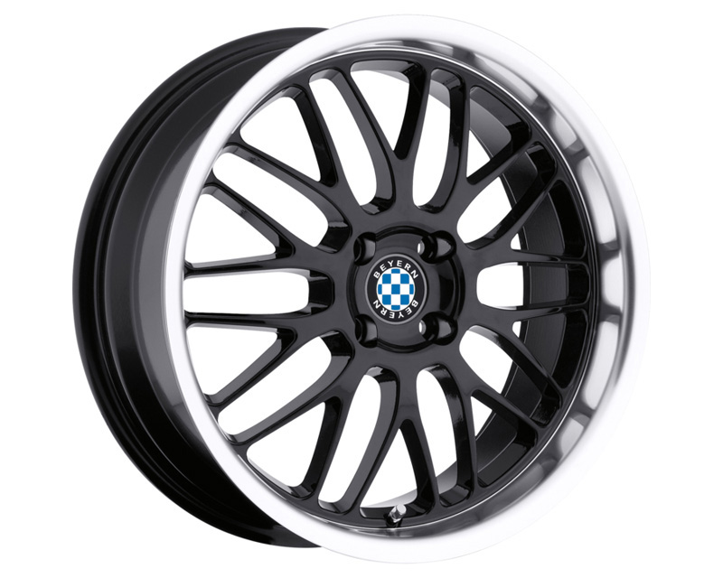 Cray Scorpion Gloss Black w/Mirror Cut Lip 20x10.5 5x120.65 65 BKGLMM