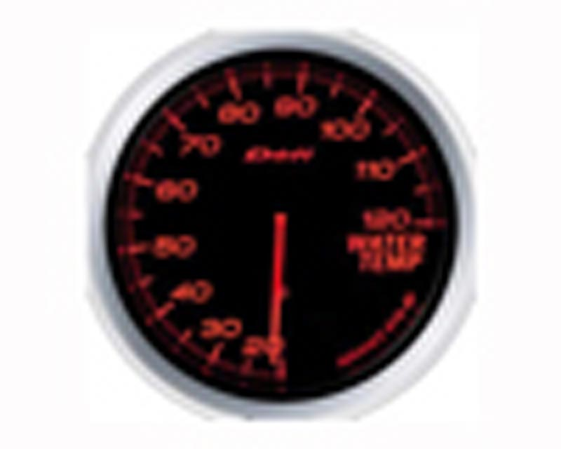 Defi Advance BF 60mm Water Temp Gauge - Red