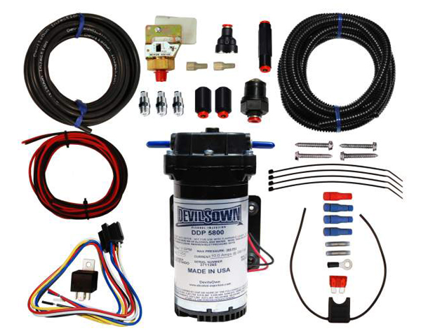 DevilsOwn Stage 1 Diesel Universal 4-Cylinder Injection Kit 2-10psi