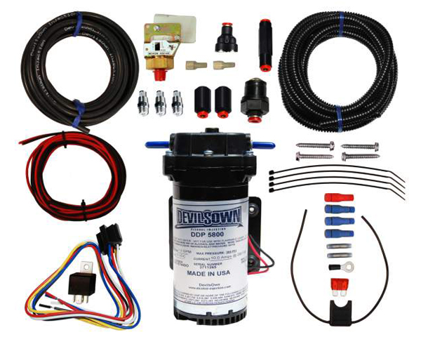 DevilsOwn Stage 1 Diesel Universal Injection Kit 6-30psi