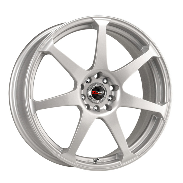 Drag DR-33 Silver Full Painted Wheel 17x8 5x100/114.3 45 - DT-22801