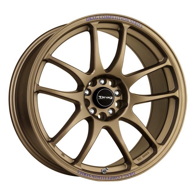 Drag DR-31 Rally Bronze Full Painted Wheel 17x8 5x100/114.3 35 - DT-49267
