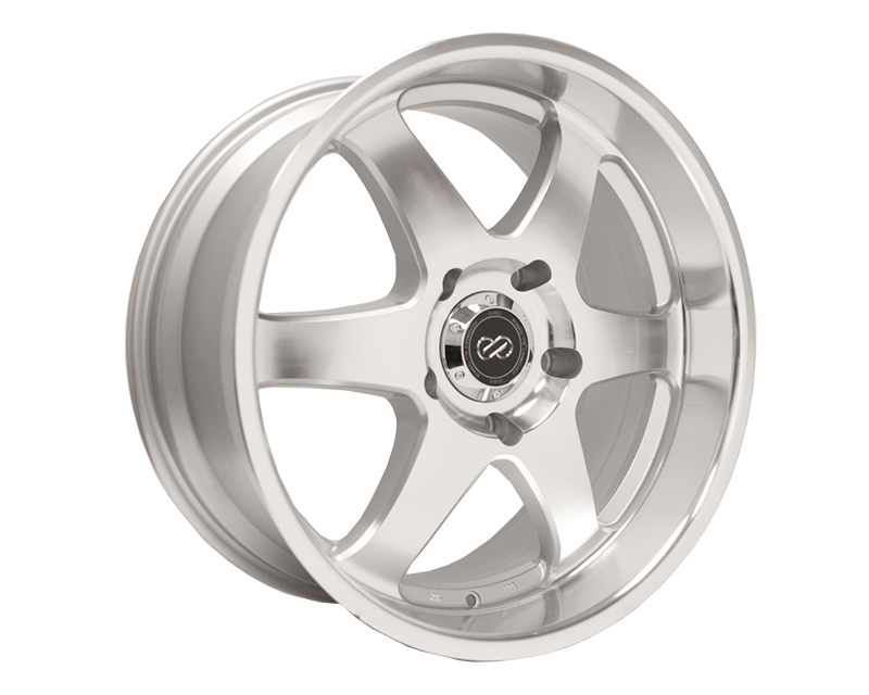 Enkei ST6 Silver Machined Wheel 17x8 5x127 +10mm