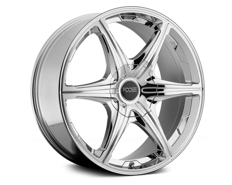 FOOSE 6 Speed F146 Chrome Wheel 20x9 6x135 +30mm - F146209097+30