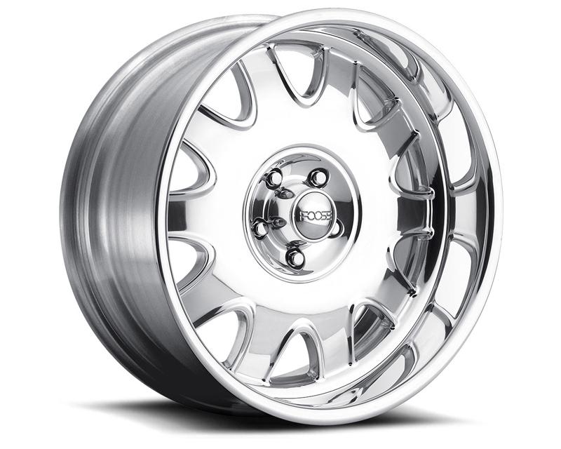 FOOSE Challenger F223 Polished Wheel 18x9 5x127 -13mm - F2238907345