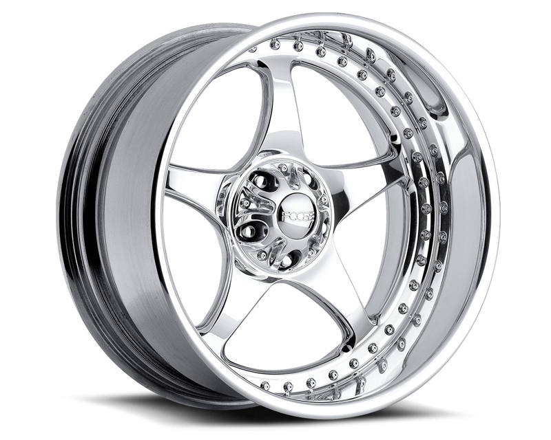 FOOSE Five00 F221 Polished Wheel 18x8 5x127 +13mm - F2218807350