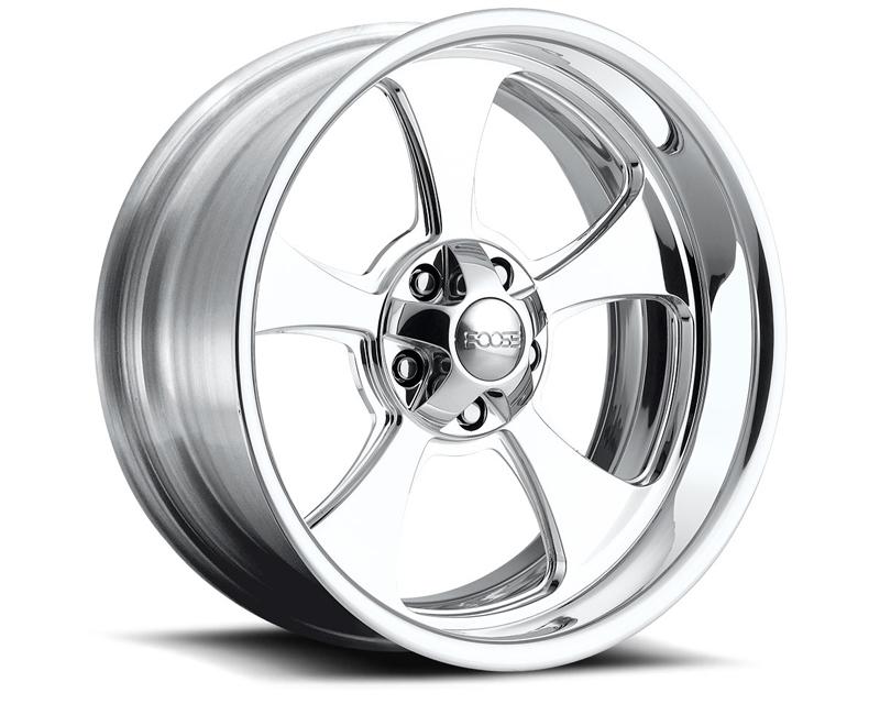 FOOSE Genuine F210 Polished Wheel 20x10 5x127 -25mm - F2102107345