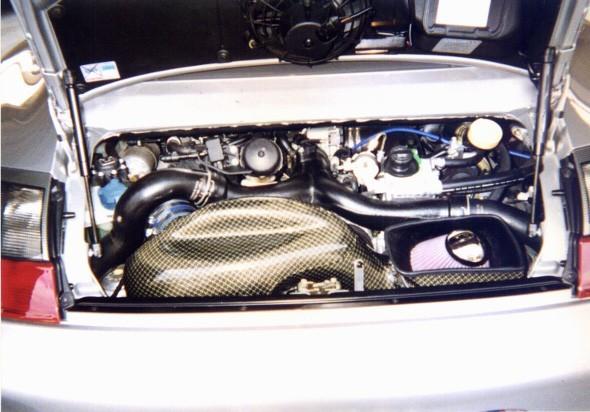 GruppeM Carbon Fiber Ram Air Intake System Porsche 996 GT2 01-04 - FRI-0140