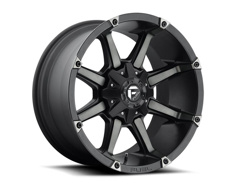 Fuel Black & Machined with Dark Tint Coupler D556 Wheel 20x12 5x5.5|5x150 -44mm - D55620207047
