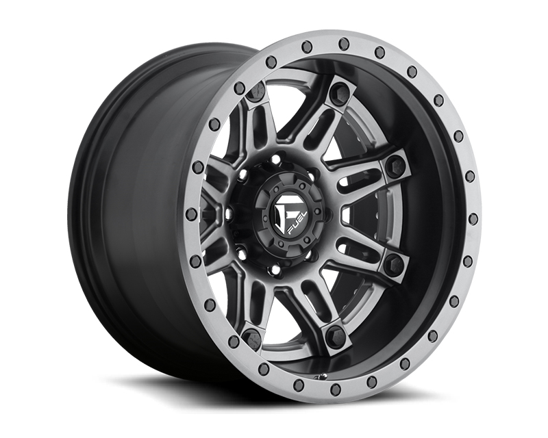 Fuel Anthracite with Matt Black & Anthracite Lip Hostage D232 2pc Wheel 20x10 8x180 -19mm - D23220001847