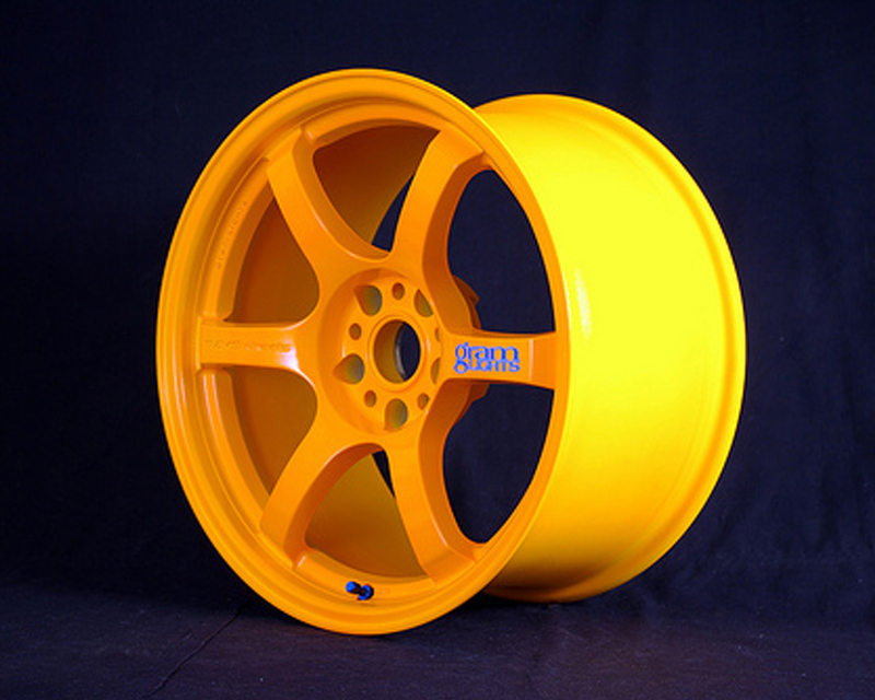 GramLights Fluorescent Orange 57D Wheel 17x9 5-114.3 12mm
