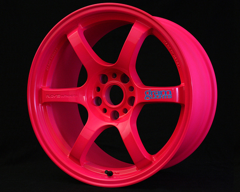 GramLights Fluorescent Pink 57D Wheel 17x9 5-114.3 22mm