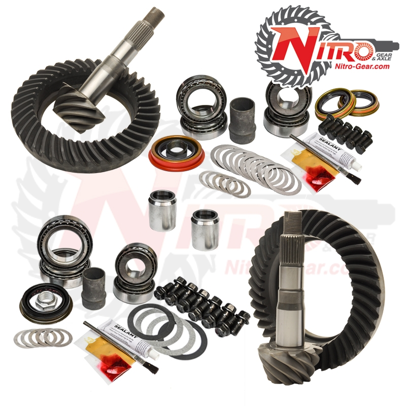 03-09 Toyota 4Runner FJ Hilux Tacoma E-Lock 4.56 Ratio Gear Package Kit Nitro Gear and Axle