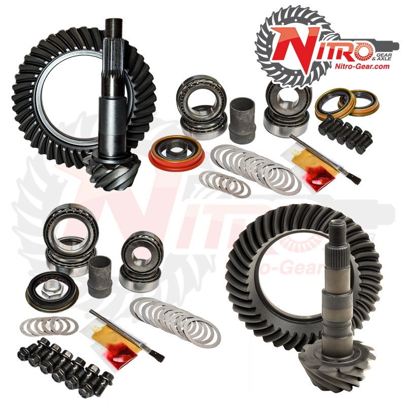 88-98 Chevrolet/GMC K-1500 4.56 Ratio Gear Package Kit Nitro Gear and Axle