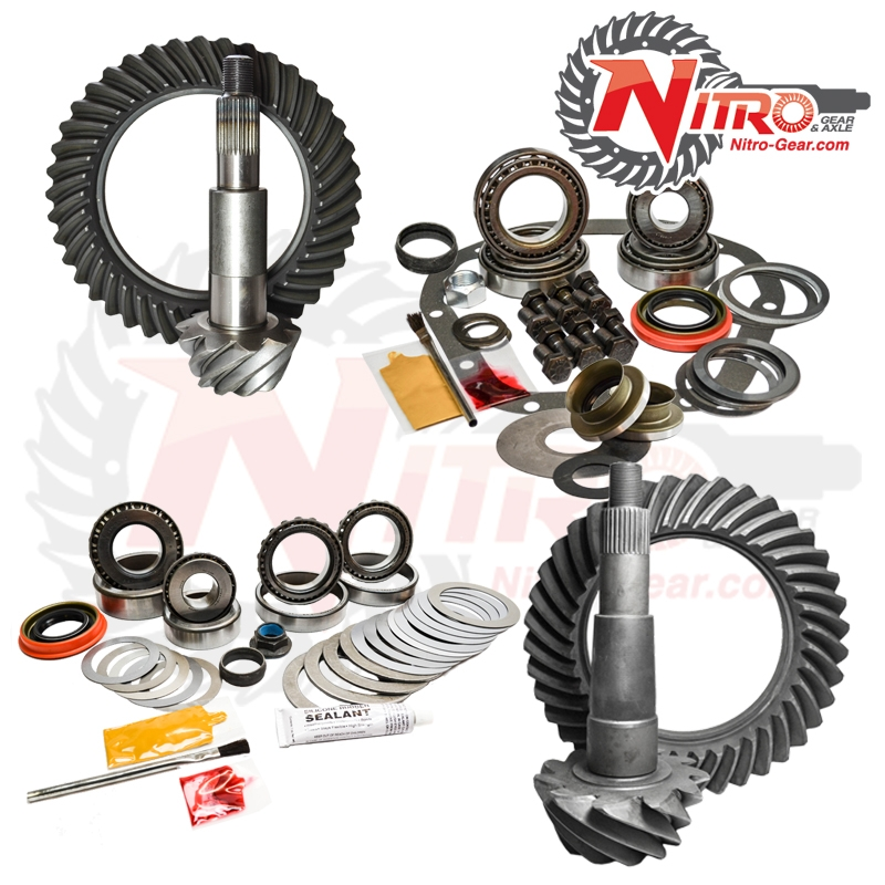 02-10 Ford F250/350 4.88 Ratio Gear Package Kit Nitro Gear and Axle