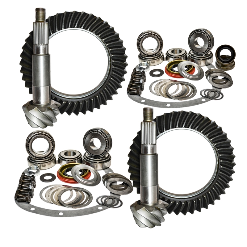 03-06 Jeep Wrangler TJ Rubicon 4.56 Ratio Gear Package Kit Nitro Gear and Axle