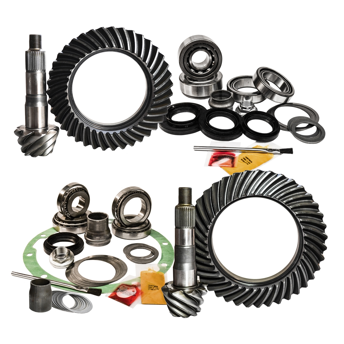 08 and Newer Toyota 200 Series/07+ Tundra 4.6L/4.7L 4.88 Ratio Gear Package Kit Nitro Gear and Axle