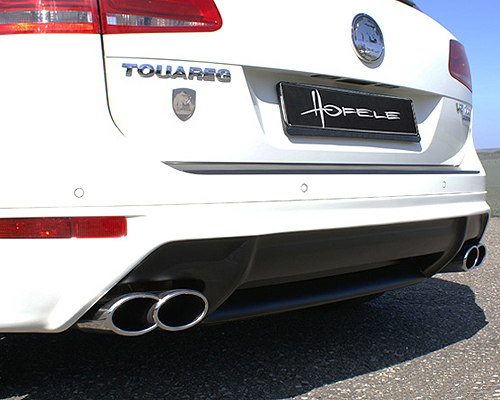 Hofele Rear Bumper Apron Diffuser for Wide Body Kit Volkswagen Touareg 11-12