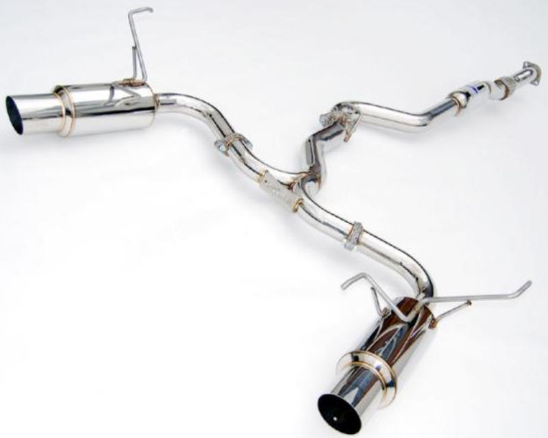 Invidia Dual N1 Catback Exhaust with Stainless Steel Tips Subaru WRX STI Sedan 2015