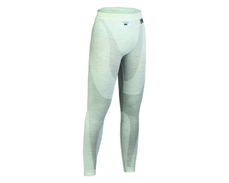 OMP Racing White One Series Long John Under Pants | 2XL