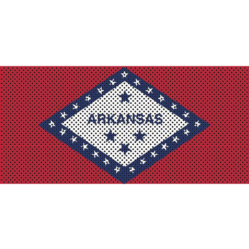 Jeep Gladiator Grill Inserts 2020-Present Gladiator Arkansas State Flag Under The Sun Inserts - INSRT-AR-JT